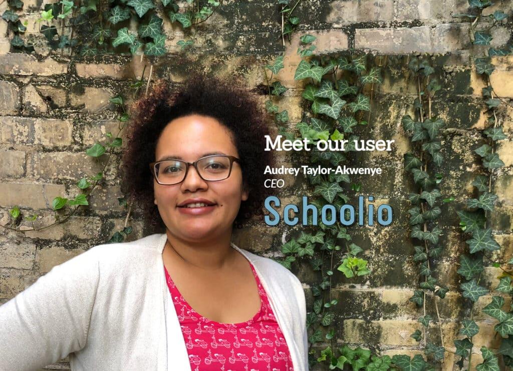 Audrey Taylor-Akwenye of Schoolio